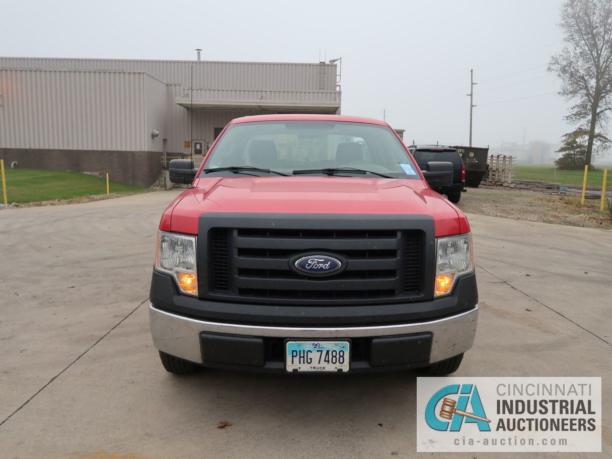 2010 FORD F-150 PICK UP TRUCK; VIN # 1FTMF1CW3AKE02719, 4.62 TRITON GAS ENGINE, AUTOMATIC - Image 2 of 12