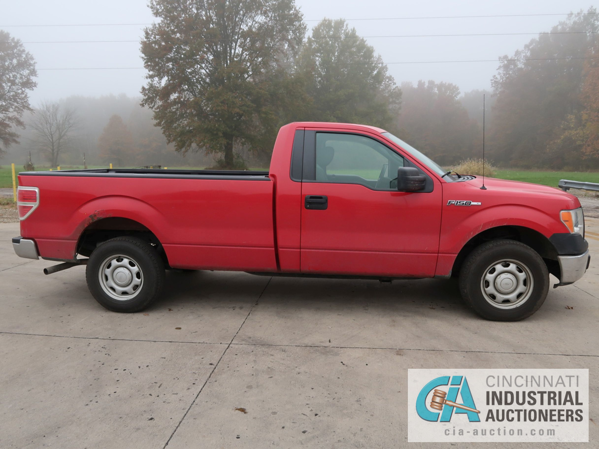 2010 FORD F-150 PICK UP TRUCK; VIN # 1FTMF1CW3AKE02719, 4.62 TRITON GAS ENGINE, AUTOMATIC - Image 4 of 12