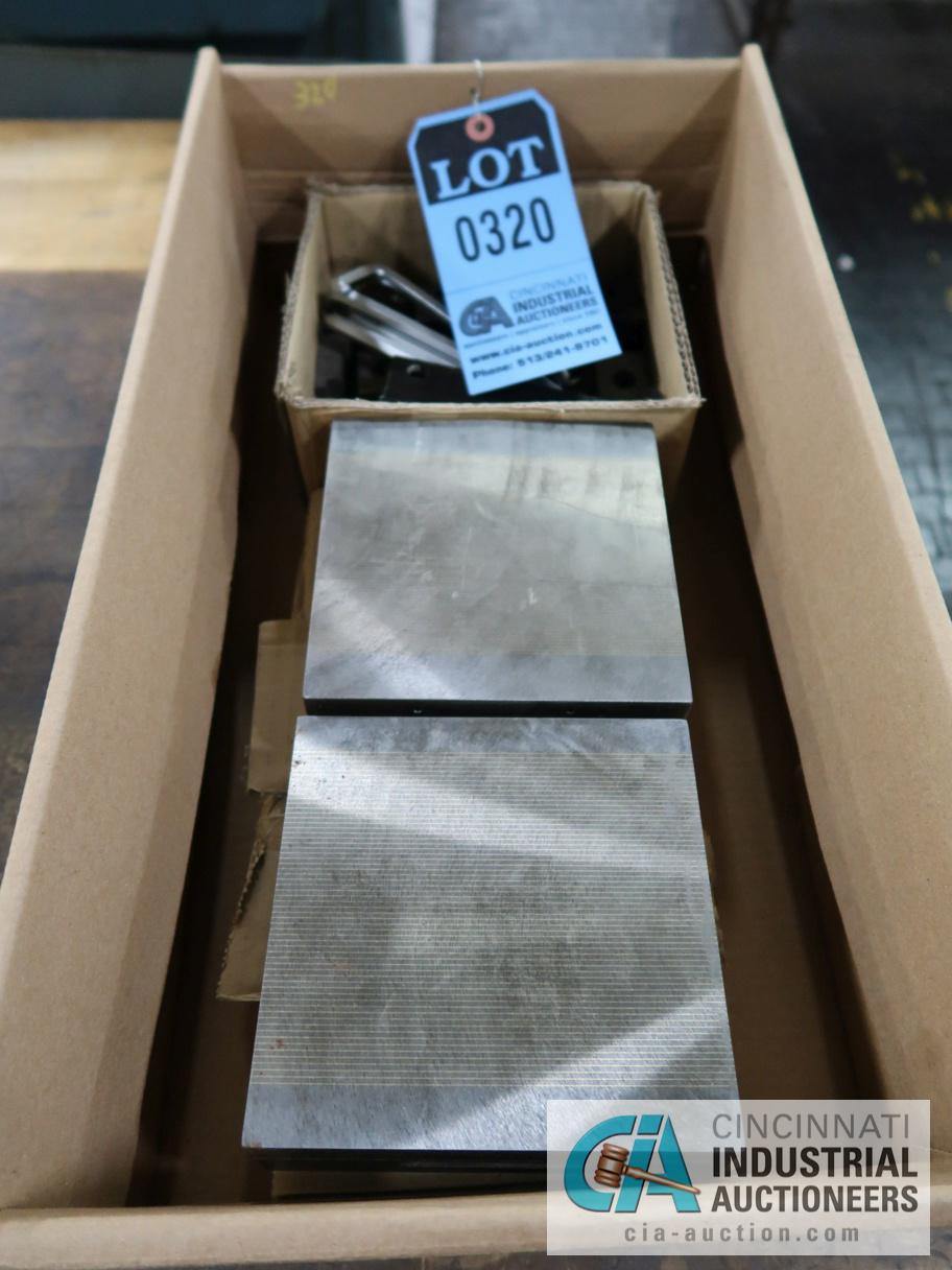 "Lot 320 - 6"" X 6"" MAGNETIC PLATES"
