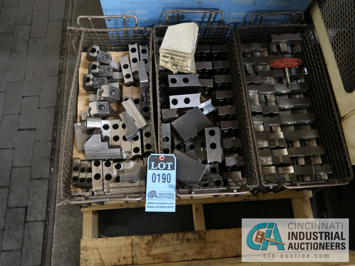 Lot 190 - (LOT) ASSORTED CHUCK JAWS