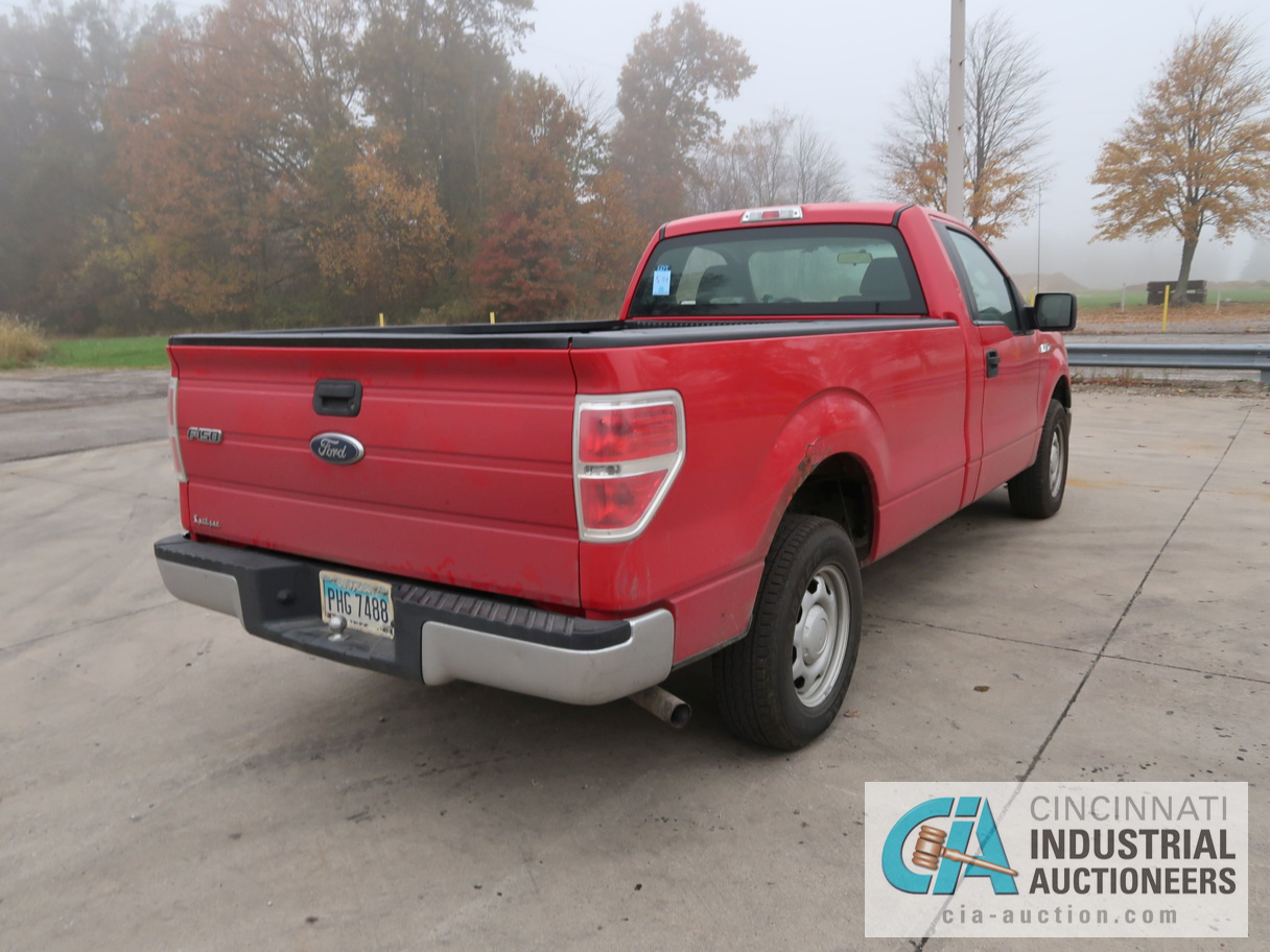 2010 FORD F-150 PICK UP TRUCK; VIN # 1FTMF1CW3AKE02719, 4.62 TRITON GAS ENGINE, AUTOMATIC - Image 5 of 12