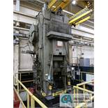 "800 TON MINSTER MODEL 900-800 KNUCKLE JOINT PRESS; S/N 3228, ½"" ADJ., 28"" X 36"" BED,"