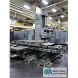 "5"" GIDDINGS & LEWIS MODEL PC-50 FOUR-AXIS CNC HORIZONTAL BORING MILL; S/N 445-1074, G&L NUMERIPATH"