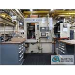 "WERTH MODEL 1218S-VNC-T5 CNC VERTICAL TURNING CENTER; S/N 9246- 0596, FANUC 16T CONTROL, 12"""