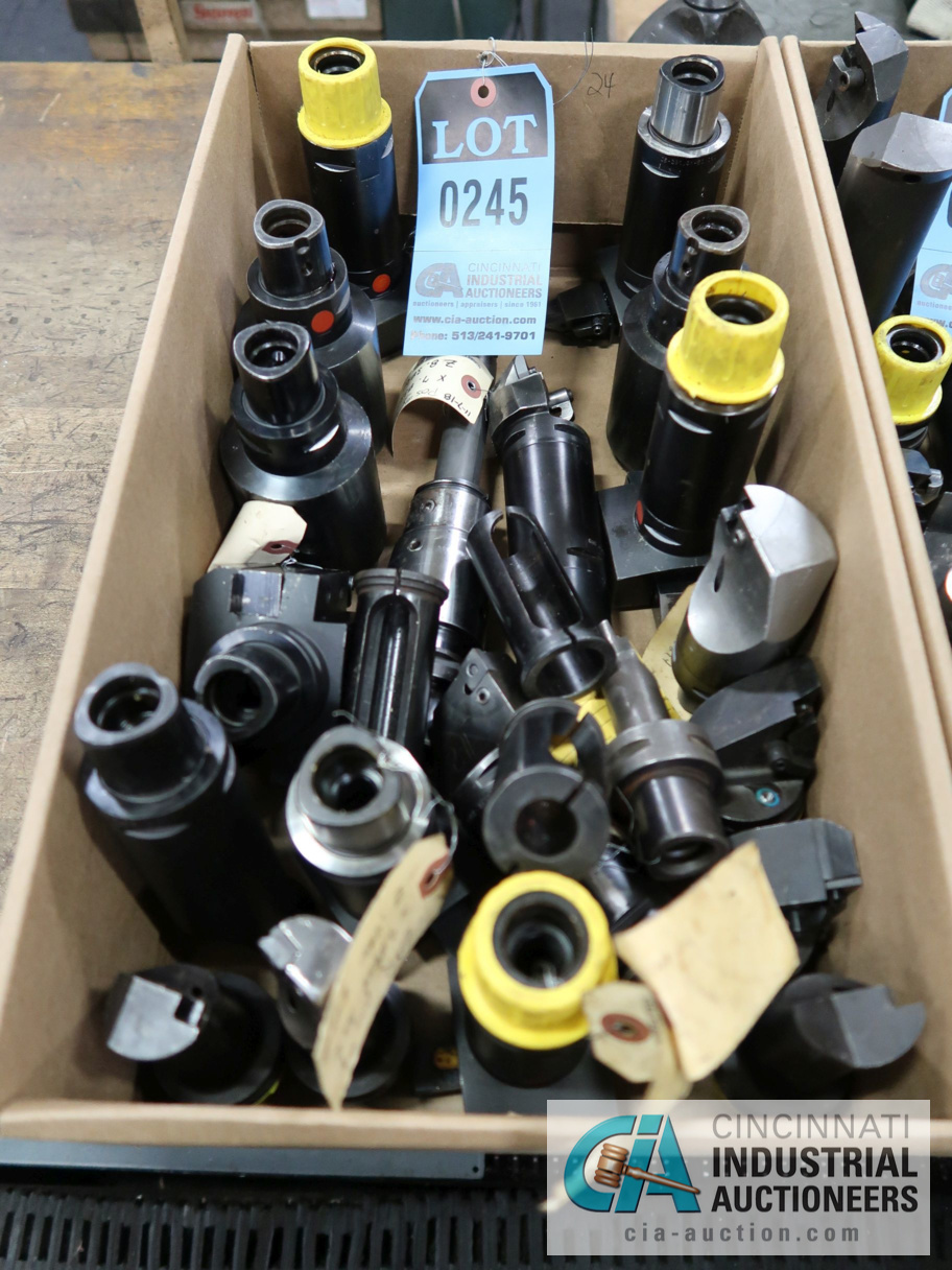 Lot 245 - (LOT) INDEX TOOLING AND COLLETS