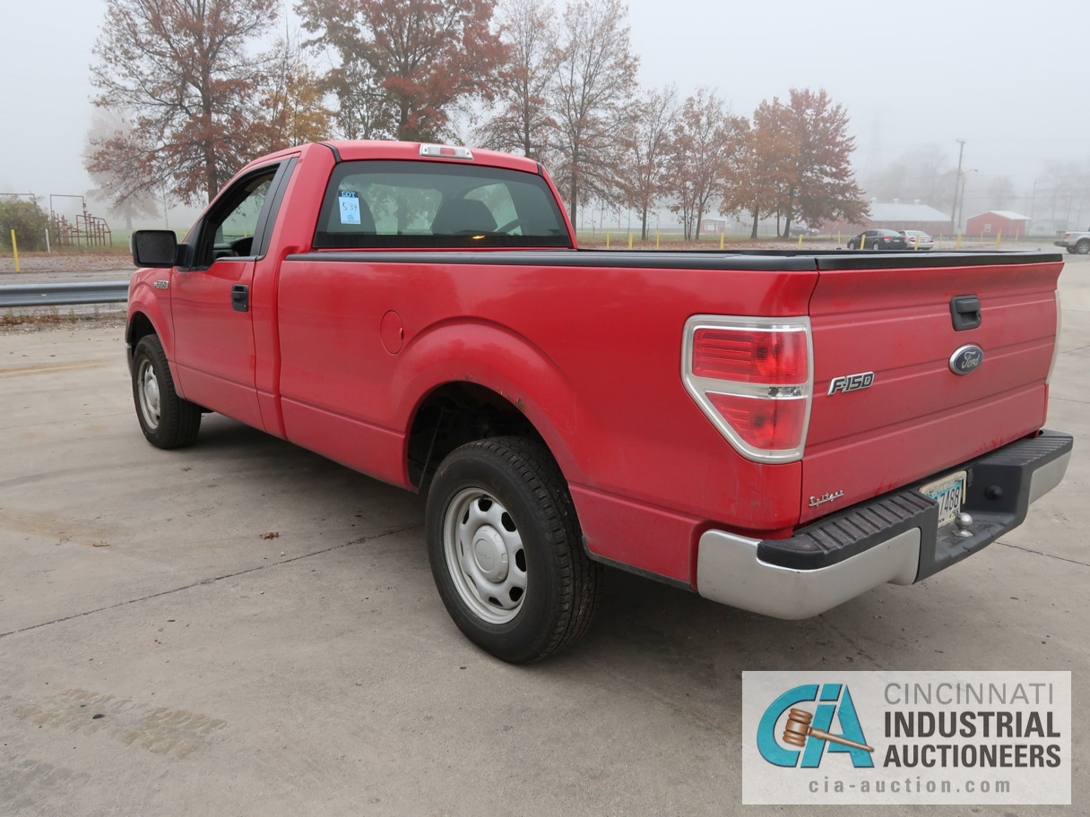 2010 FORD F-150 PICK UP TRUCK; VIN # 1FTMF1CW3AKE02719, 4.62 TRITON GAS ENGINE, AUTOMATIC - Image 7 of 12