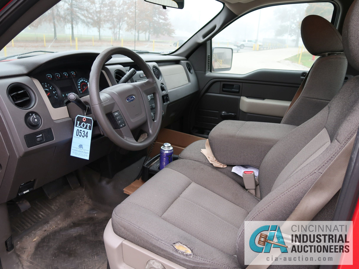 2010 FORD F-150 PICK UP TRUCK; VIN # 1FTMF1CW3AKE02719, 4.62 TRITON GAS ENGINE, AUTOMATIC - Image 10 of 12