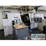 OKUMA MODEL LB45II-M CNC TURNING CENTER W/ LIVE TOOLING; S/N 13020269, W/ OSP 100L CONTROL (