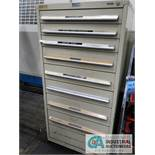 9-DRAWER NU-ERA CABINET WITH MISC. TOOLING
