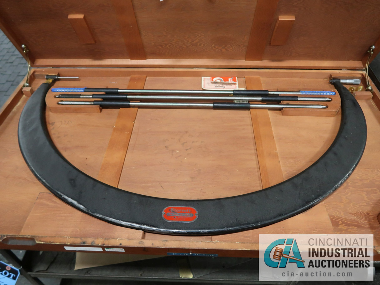 """36"""" TO 42"""" STARRETT O.D. MICROMETER - Image 2 of 2"""