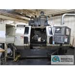 "MONARCH MODEL VMC 45B CNC VERTICAL MACHINING CENTER; S/N 9530813, FANUC 16 M CONTROLS, 19"" X 42"""