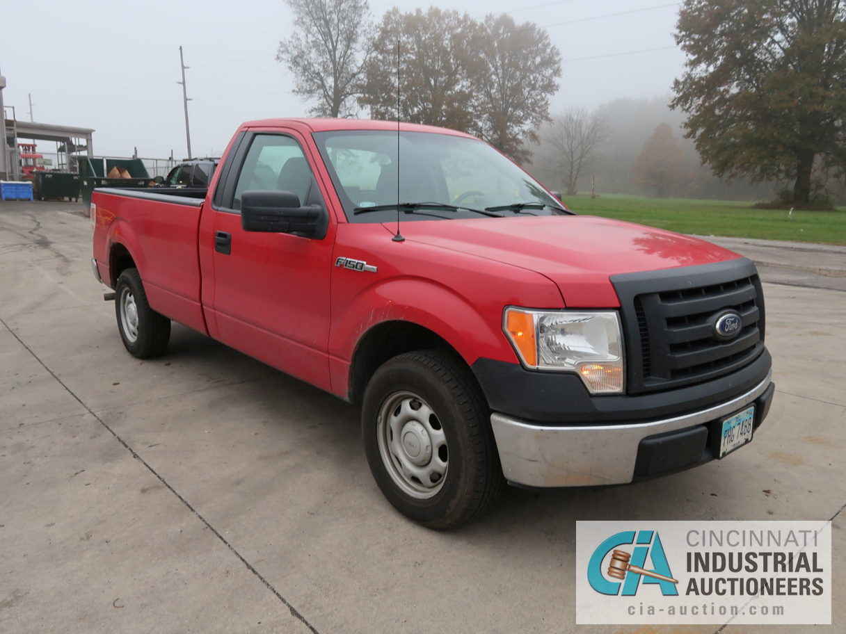 2010 FORD F-150 PICK UP TRUCK; VIN # 1FTMF1CW3AKE02719, 4.62 TRITON GAS ENGINE, AUTOMATIC - Image 3 of 12