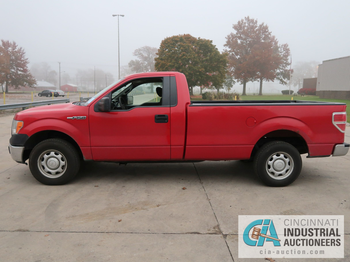 2010 FORD F-150 PICK UP TRUCK; VIN # 1FTMF1CW3AKE02719, 4.62 TRITON GAS ENGINE, AUTOMATIC - Image 8 of 12