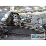 """48"""" X 108"""" LEBLOND 15"""" HOLLOW SPINDLE MODEL 5029 N/C FLAT BED LATHE; GE 1050 CONTROL, 32"""" CHUCK,"""