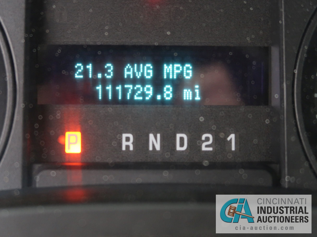 2010 FORD F-150 PICK UP TRUCK; VIN # 1FTMF1CW3AKE02719, 4.62 TRITON GAS ENGINE, AUTOMATIC - Image 11 of 12