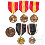 Sechs Medaillen, Spanien/Italien