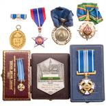 Sieben internationale Auszeichnungen, 20. Jhdt.