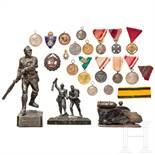 Kleine Sammlung österreichischer Militaria und Orden