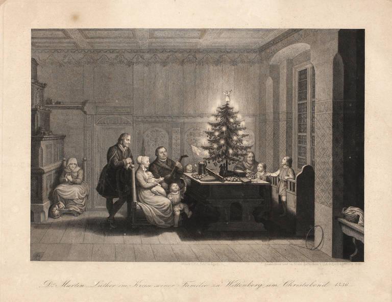 carl august schwerdgeburth luthers weihnachten 1536. Black Bedroom Furniture Sets. Home Design Ideas