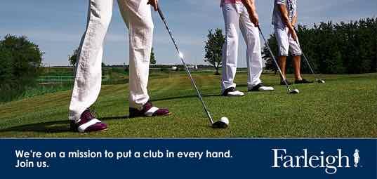 Lot 78 - Golf club experience at Farleigh Golf Club, Surrey