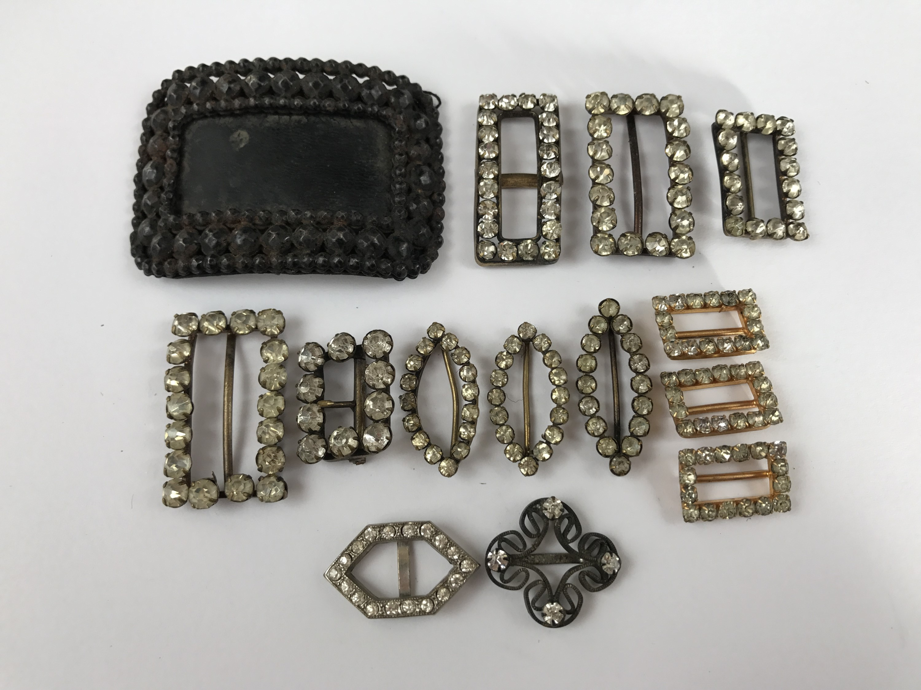 Lot 20 - 19th Century and later shoe and dress buckles