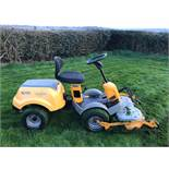 STIGA PARK COMPACT HST RIDE ON LAWN MOWER, RUNS, WORKS & CUTS *NO VAT*