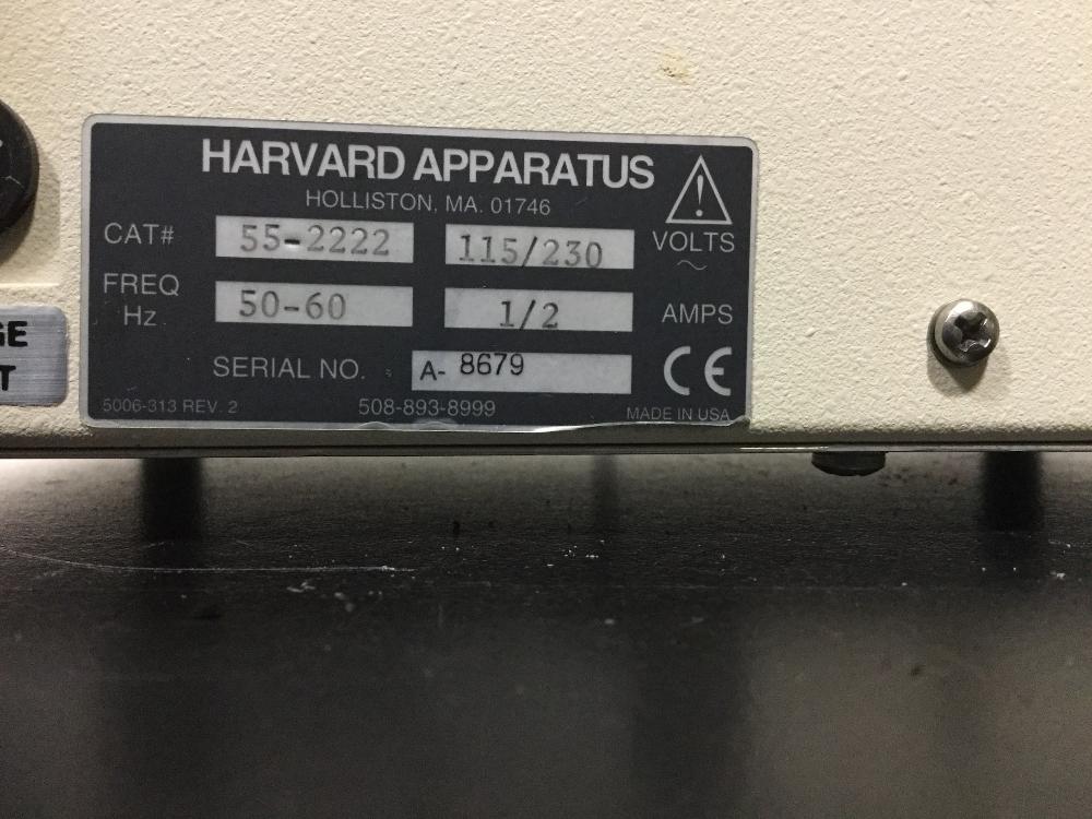 Lot 7 - Harvard Apparatus Model 22 Infusion Pump