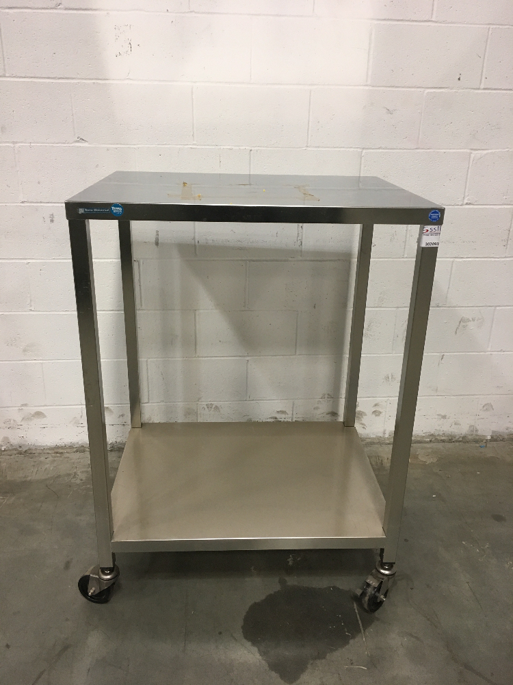 Lot 54 - Terra Universal 3' Stainless Steel Cart