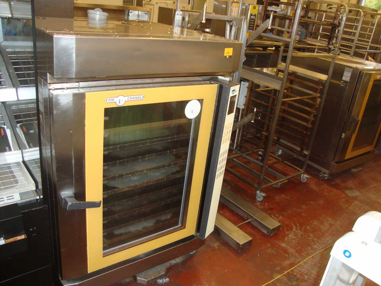 Tom Chandley Wiesheu multi tray oven system type M16E2TS350 including  #B28819