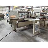 KALAMAZOO HORIZONTAL POWER BANDSAW, MODEL 13AW, SN N2651, SINGLE MATERIAL CLAMP, 65-360 SFPM