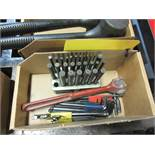 PUNCH SET, DESMOND CUTTER TOOL, AND ALLEN WRENCHES