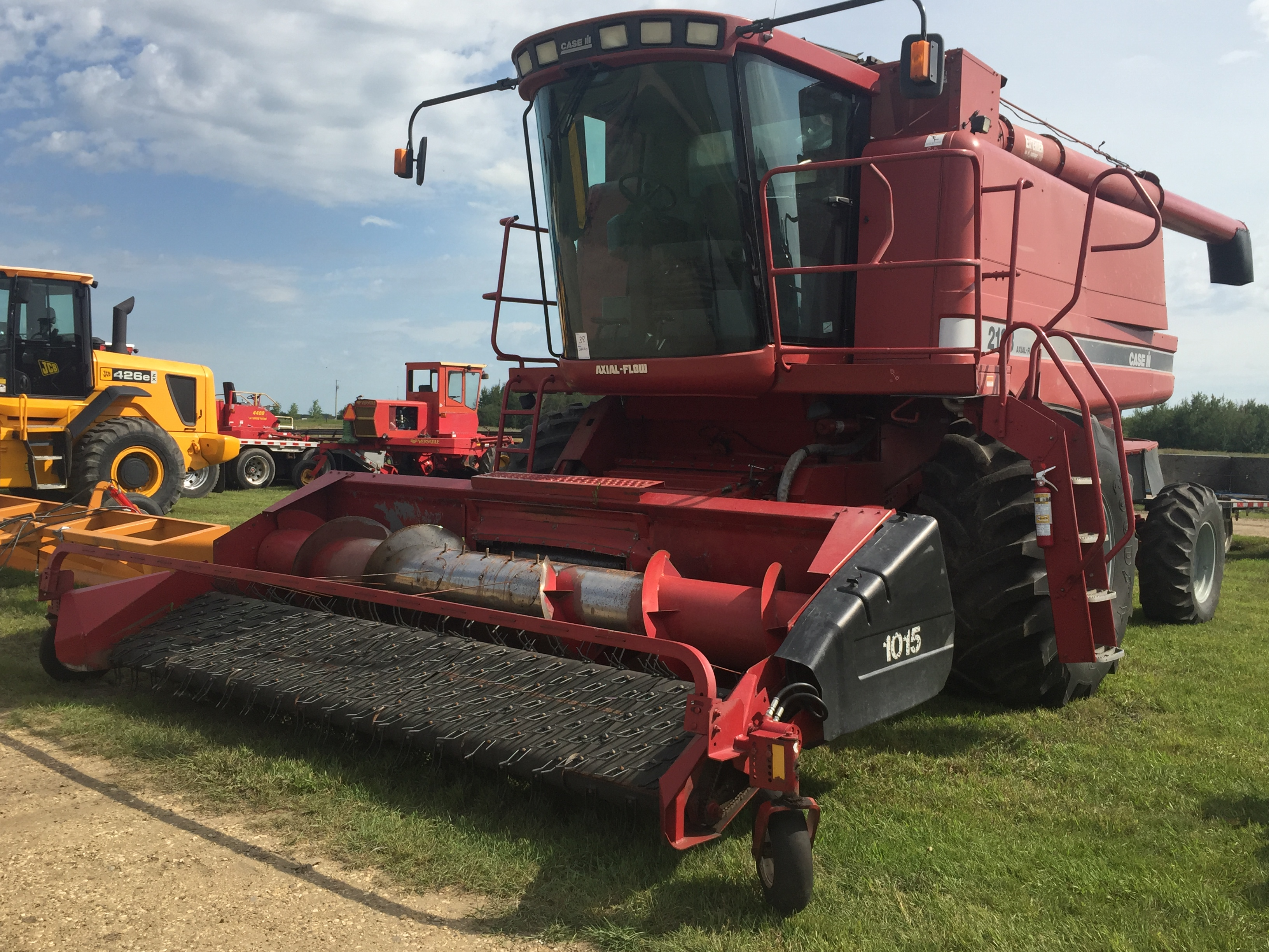 2188 combine - Lot 76 1990 Case Ih 2188 Axial Flow Combine 2682 Thrashing Hours