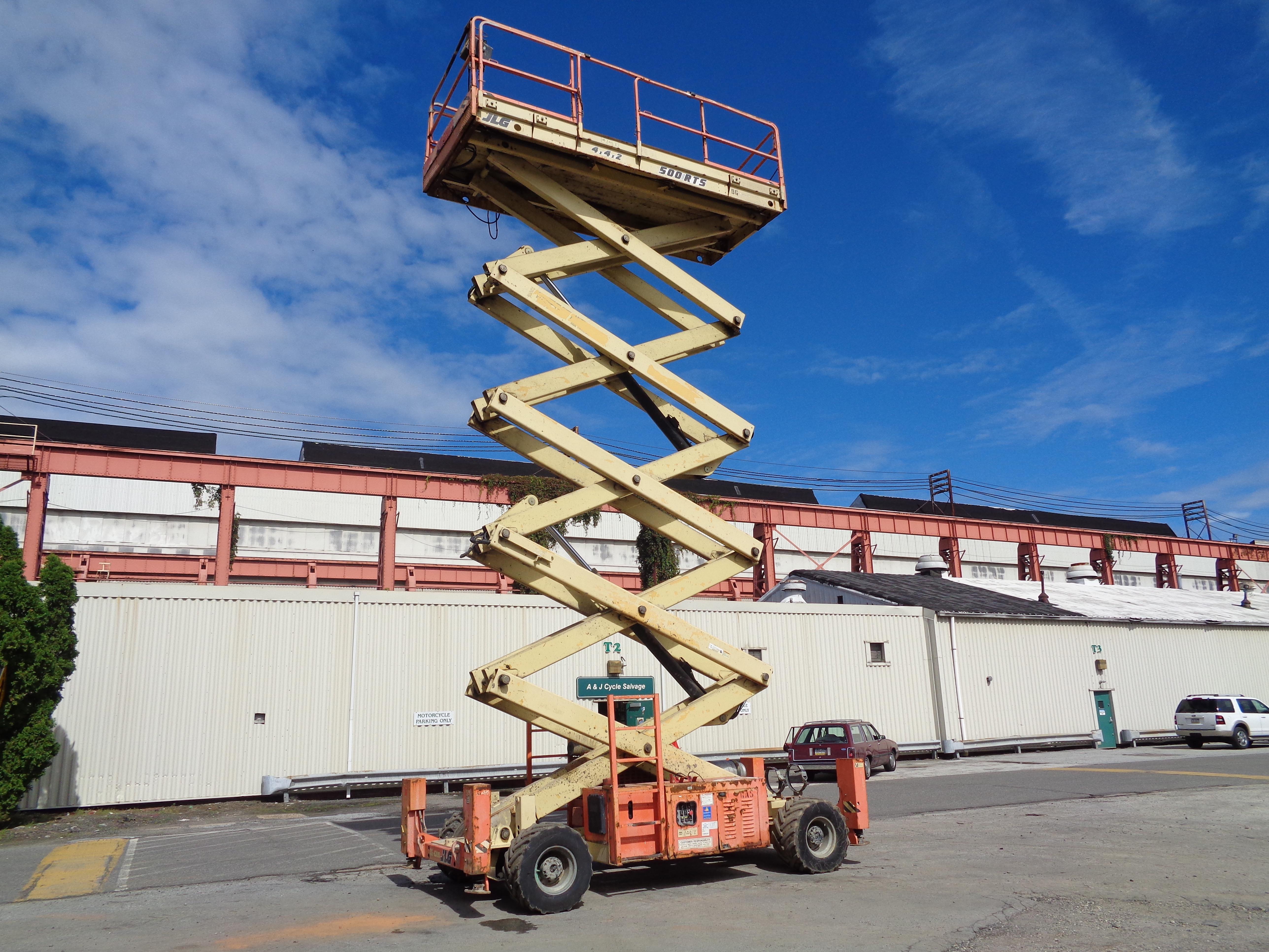 Lot 48 - JLG 500RTS Rough Terrain 4x4 Scissor Lift - 50Ft Height