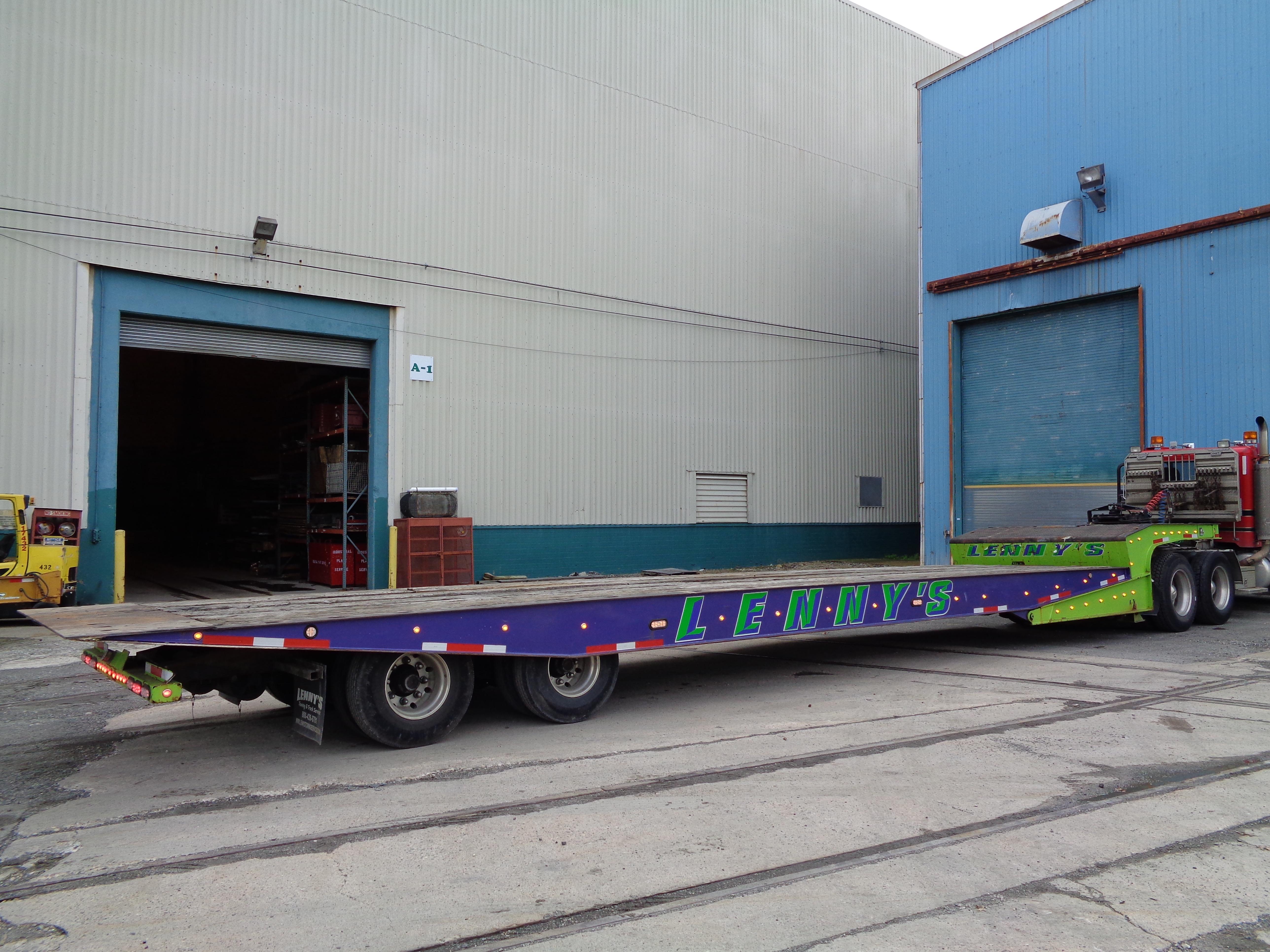 Lot 118A - 2006 Landoll 48FT Tilt Deck Trailer