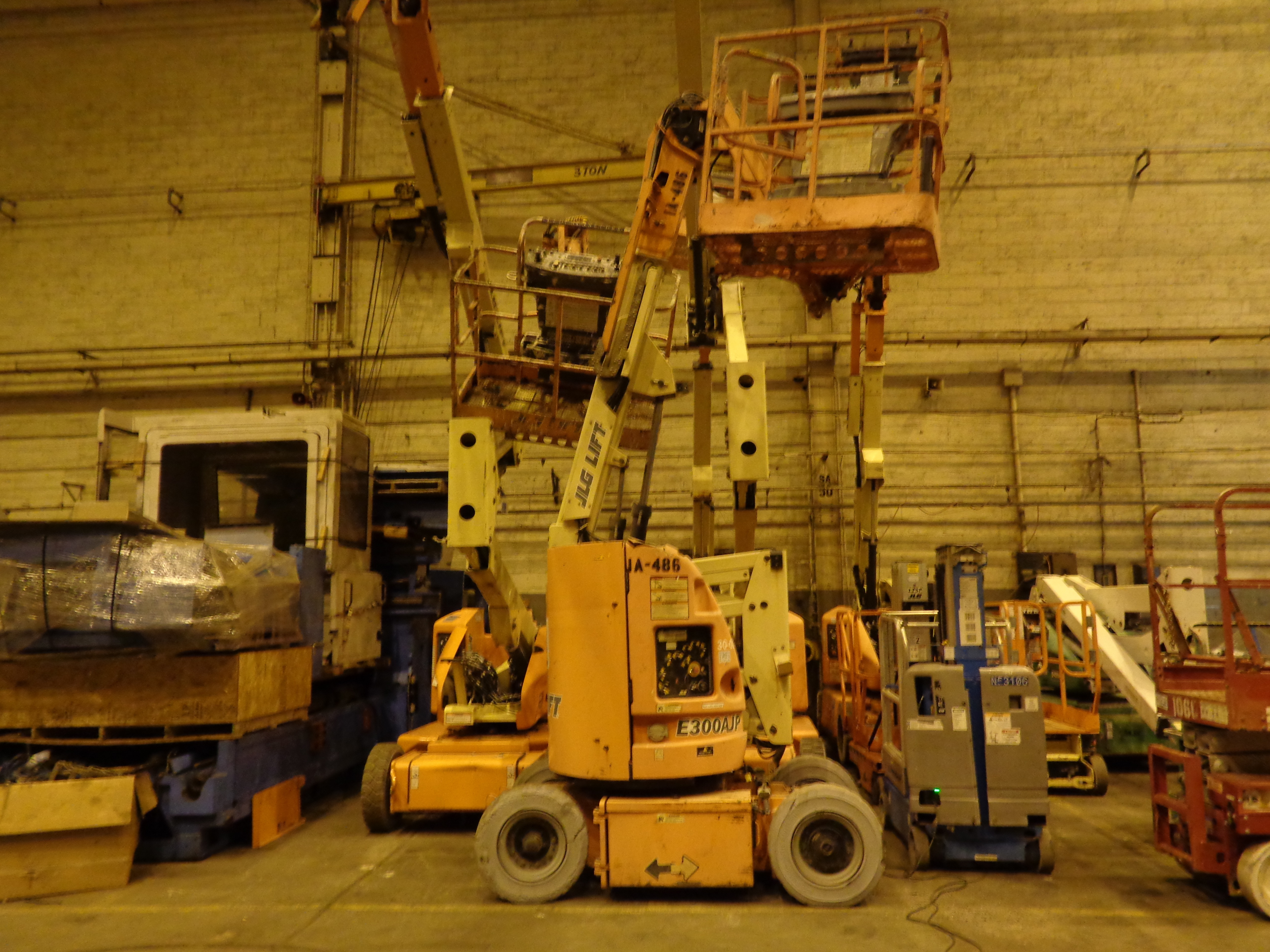 Lot 45A - JLG E300AJP Electric Boom Lift - 30FT Height