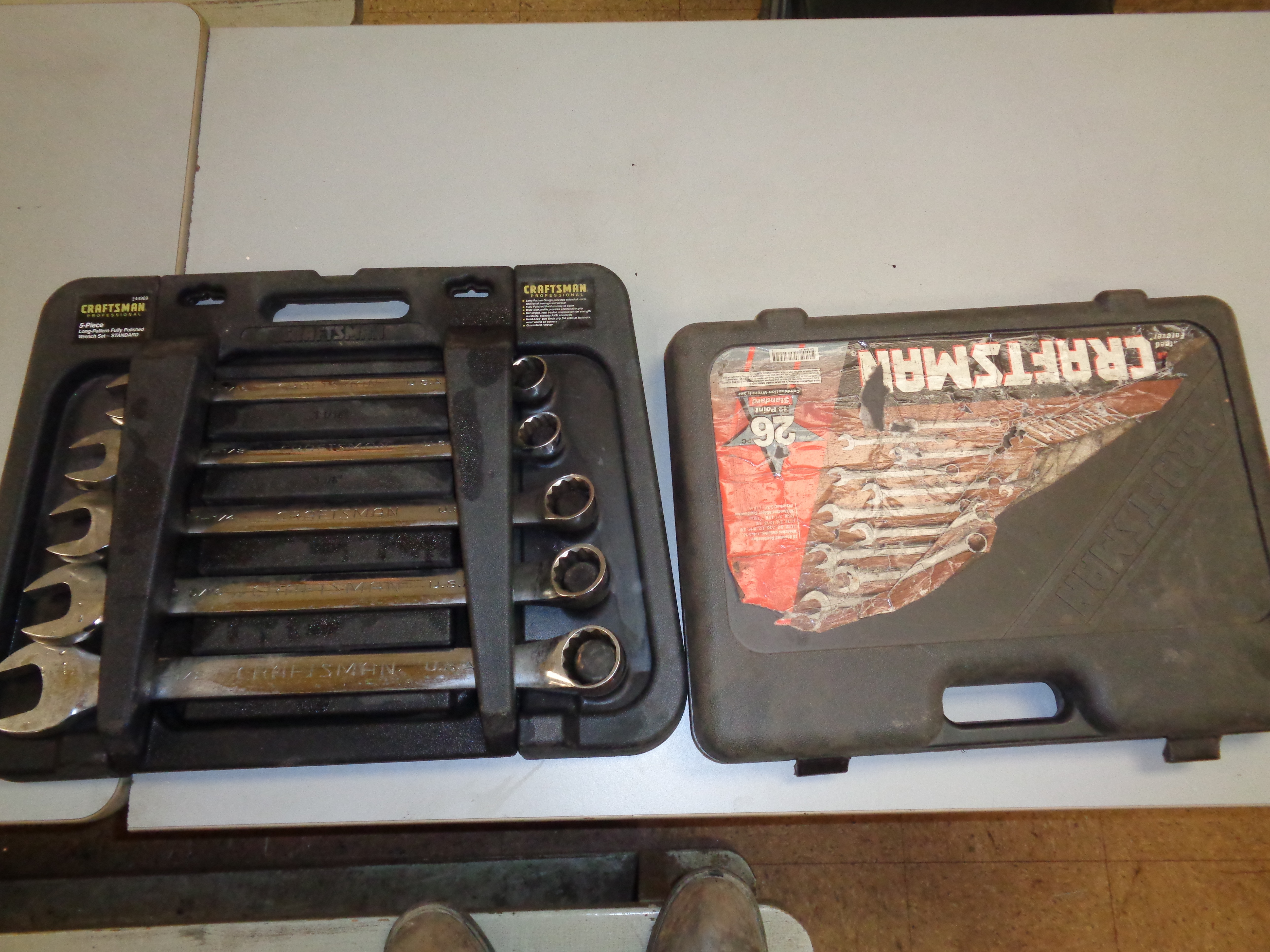 """Lot 18 - Craftsman 26pc and 5pc Wrench Sets up to 1 1/2"""""""