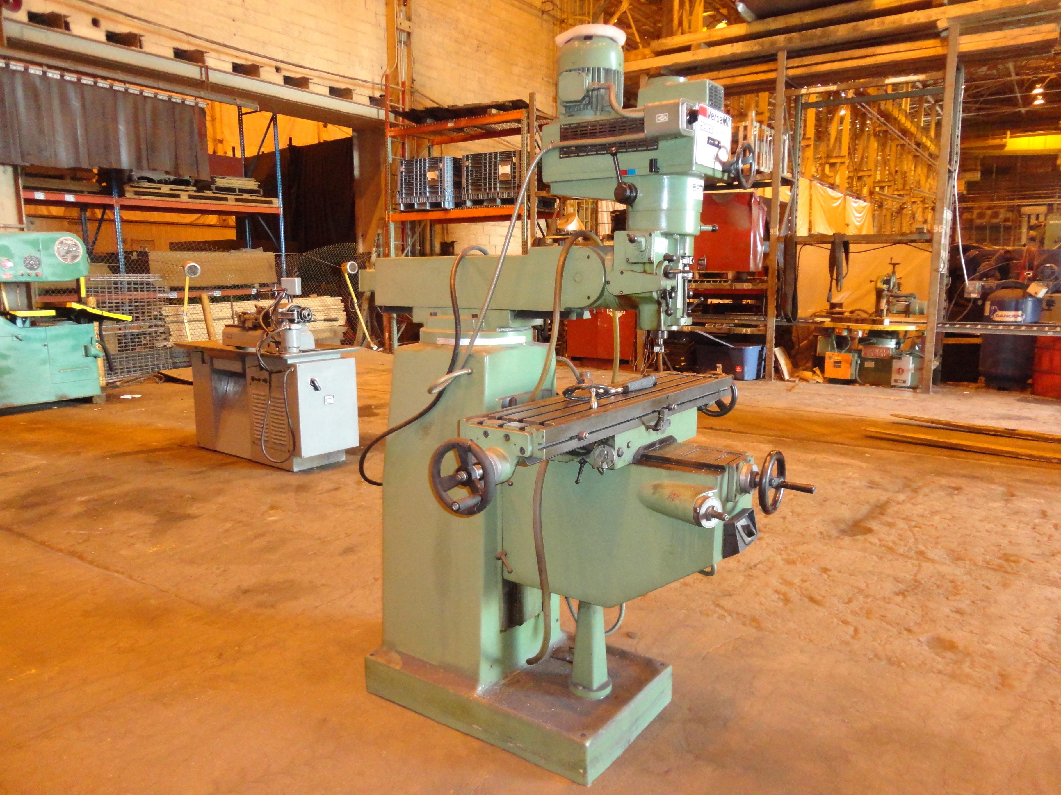 Lot 32 - Versa BPT5 Vertical Mill