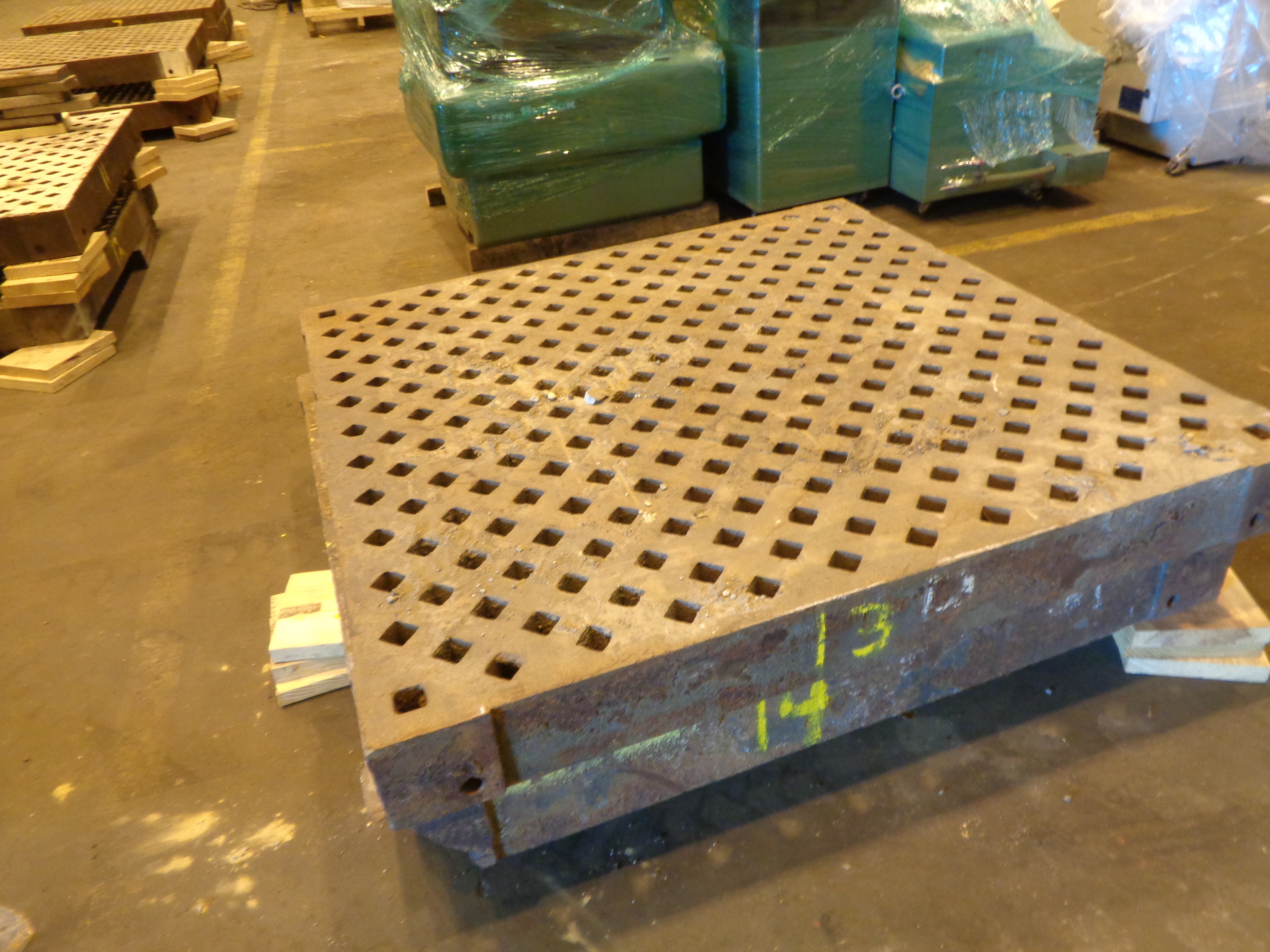 Lot 27 - Lot of 2 Acorn Welding Tables #13 and #14