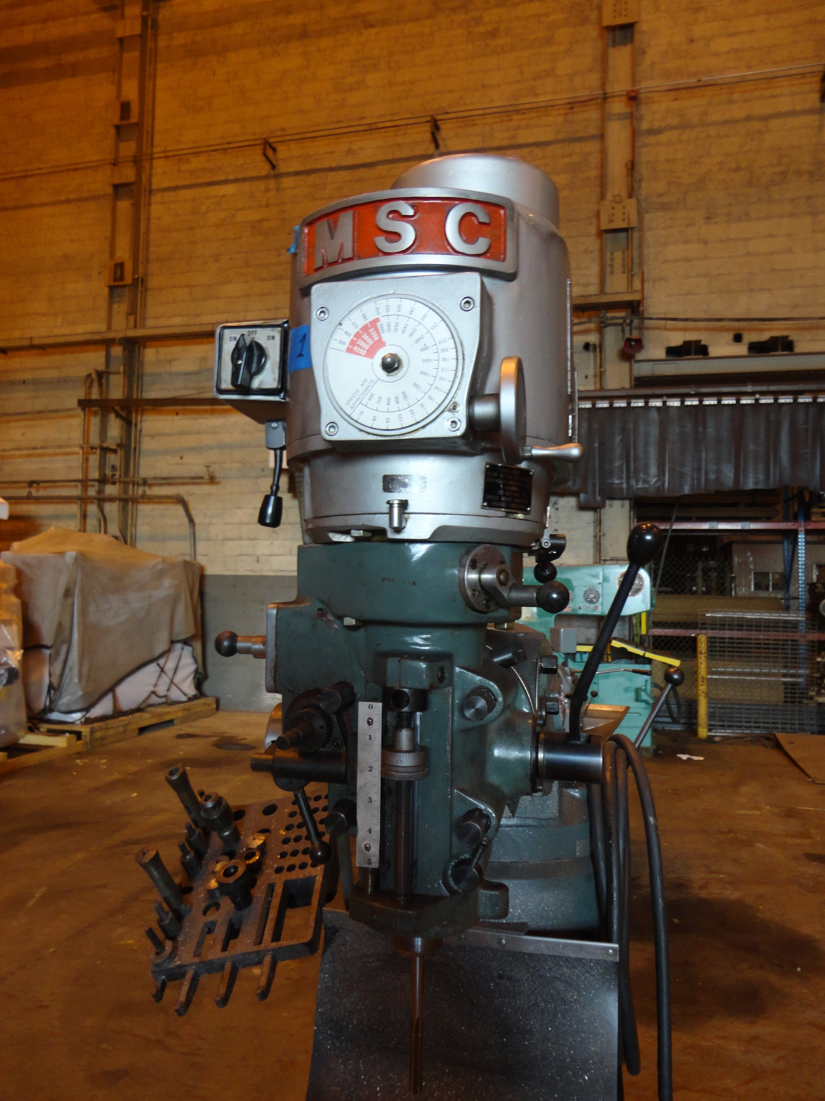 Lot 33 - MSC Vertical Mill
