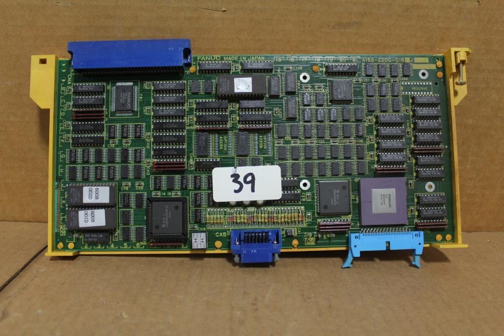 Fanuc A16B-2200-0160 CPU Board