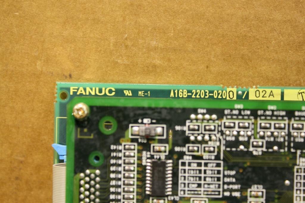 Fanuc A16B-2203-0200 Interface Board - Image 4 of 5
