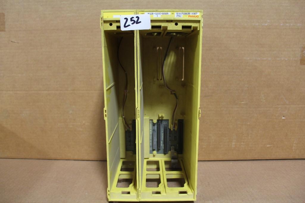 Lot 252 - Fanuc A02B-0200-B505 Power Supply Rack