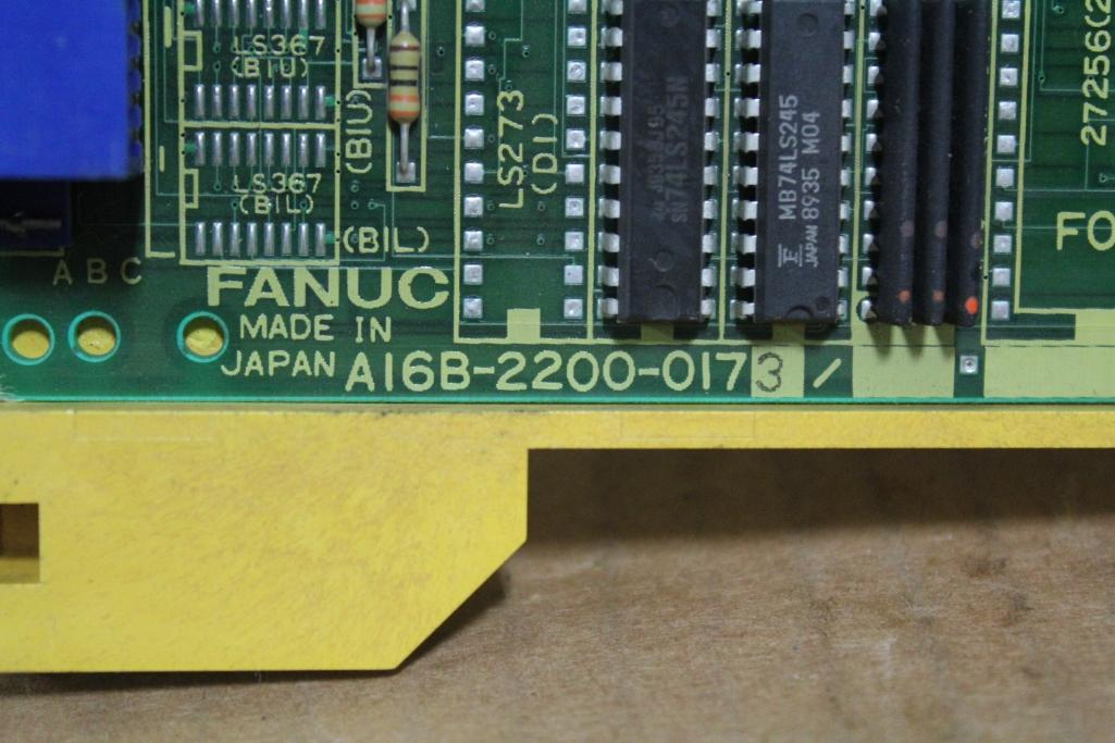 Fanuc A16B-2200-0173 Serial Port Board ***Broken Plastic*** - Image 2 of 4