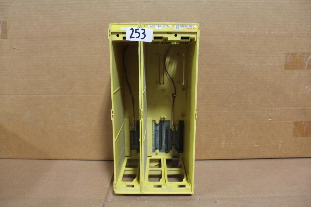 Lot 253 - Fanuc A02B-0200-B505 Power Supply Rack