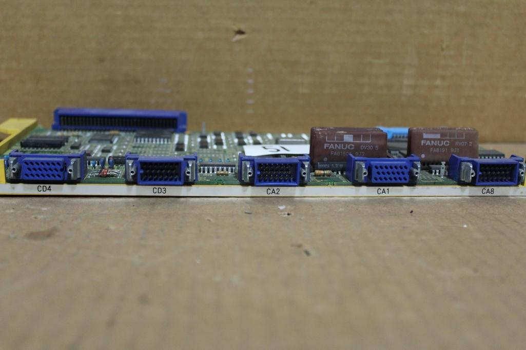 Fanuc A16B-2200-0173 Serial Port Board ***Broken Plastic*** - Image 3 of 4