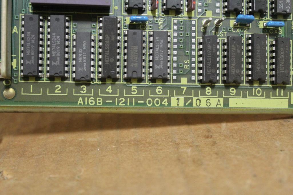 Fanuc A16B-1211-0041/06A Board - Image 2 of 3