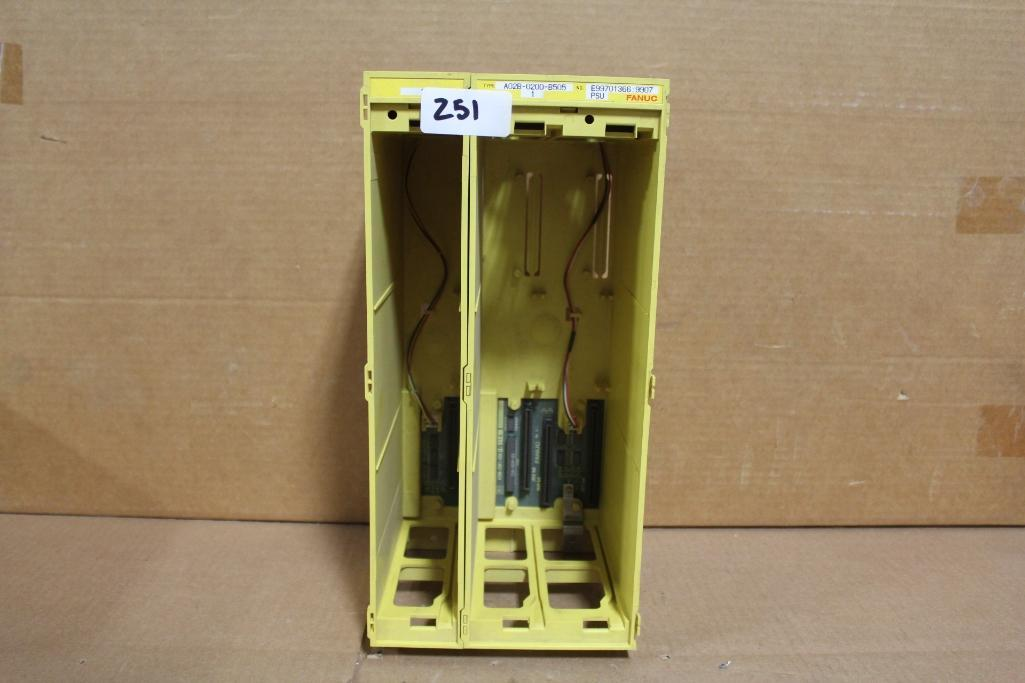 Lot 251 - Fanuc A02B-0200-B505 Power Supply Rack