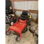 MUSTANG FIT ZERO-TURN RIDER MOWER, TROY BUILT 452CC GAS POWERED