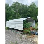 20' X 12' STEEL SHED