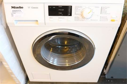 Goede Miele W Classic Washing Machine Manual YX-99
